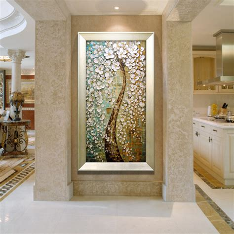 hall painting pure hand painted paintings frameless painting the living