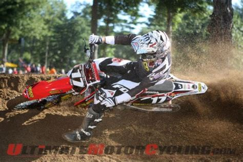 ama motocross 250 results ama 250 mx southwick report review motorcycling
