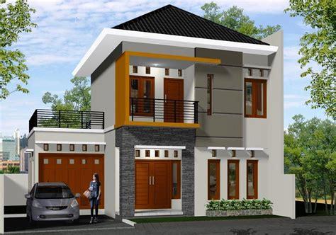 gambar desain rumah nak depan 16 contoh rumah minimalis 2 lantai model terbaru 2018