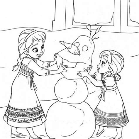 19 best images about frozen coloring pages on pinterest