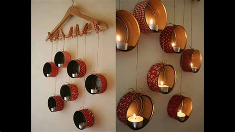 making of home decorative items use waste material to make something which is useful or