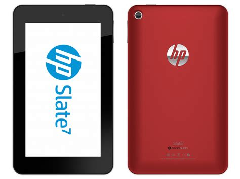 Quick Contest: Win an exclusive red HP Slate 7 tablet