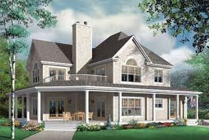 2 Story Country House Plans by Country Style House Plans 2992 Square Foot Home 2