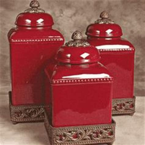 red canisters kitchen decor 1000 ideas about red canisters on pinterest canisters