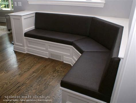 Upholstered Banquette Seating by Upholstery For Chairs Cushions Banquettes In Illinois