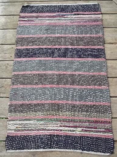 small cotton throw rugs vintage cotton runner rug stair step carpet or entryway throw rug