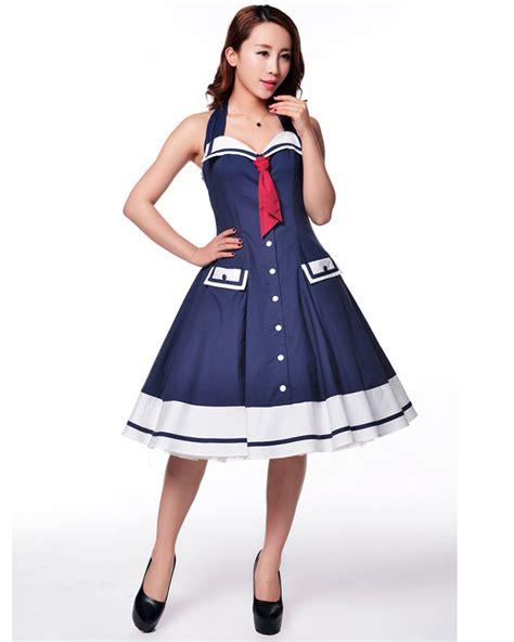 swing costumes rk103 rockabilly sailor retro nautical costume dress pin