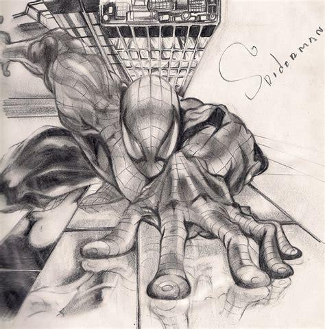 imagenes de spiderman para dibujar a lapiz mi spiderman a lapiz taringa