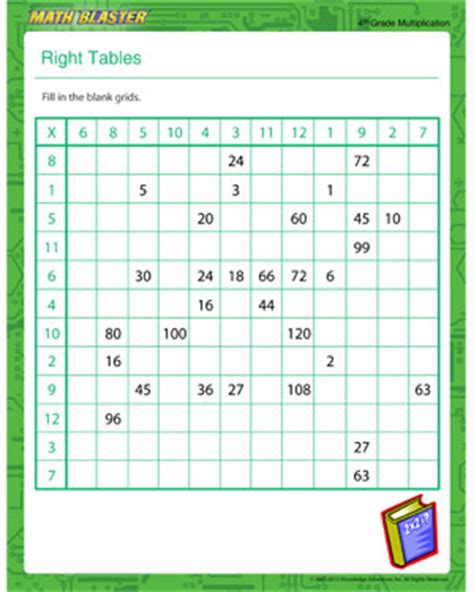 printable multiplication table fill in times table grid printable new calendar template site