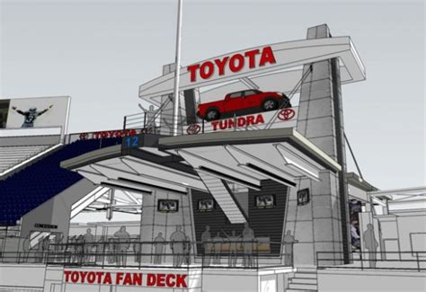 toyota fan deck centurylink field art thiel sportspress northwest