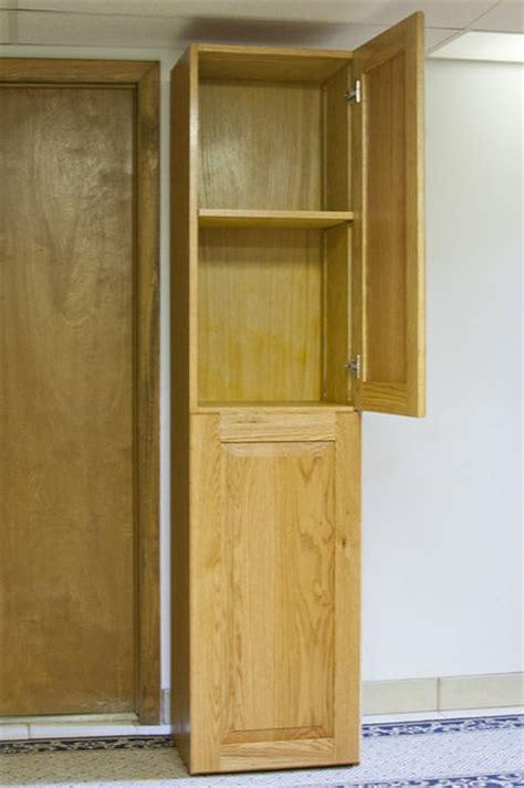 Raised Panel Oak Cabinet Doors Oak Cabinet With Raised Panel Doors By Flossy Lumberjocks Woodworking Community