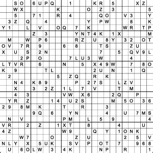 printable sudoku with letters and numbers sudoku puzzle sales