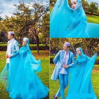 1707069 Biru Tua Gaun Pengantin Wedding Gown Wedding Dress 38 baju pengantin muslim warna terfavorit model terupdate model baju busana muslim terbaru