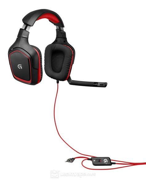 Headset Gaming Logitech logitech g230 gaming headset review gaming nexus