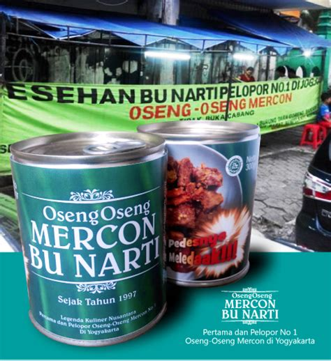Oseng Mercon Kaleng Daging Sapi Makanan Kaleng oseng mercon kaleng bu narti jogja pedasnya meledak gudeg kaleng jogja