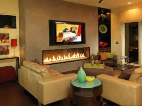 Living Room With Fireplace by Photo Page Hgtv