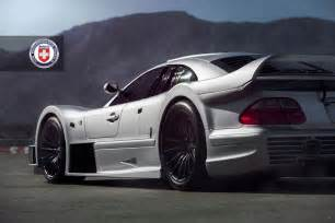 Pictures Of Mercedes Cars Stunning Mercedes Clk Gtr With Satin Black Hre Wheels