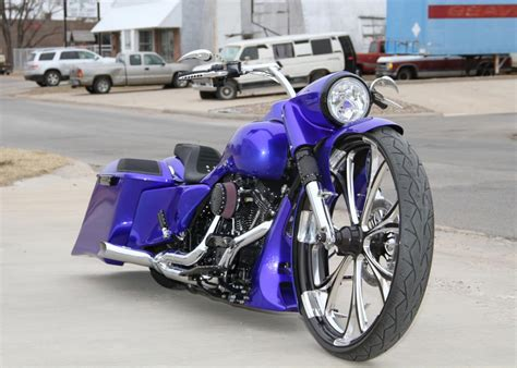Custom Custom covington s blue30roadking custom bagger