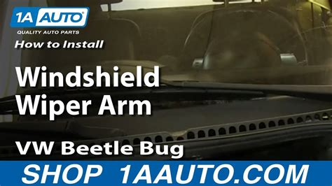 repair windshield wipe control 2002 volkswagen cabriolet navigation system how to replace windshield wiper arm 98 10 vw beetle youtube