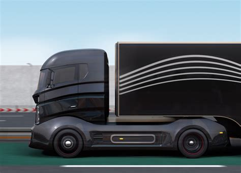 electric company truck tesla teases electric truck launch logistics trucking