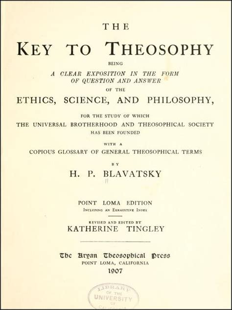 the key to theosophy books the key to theosophy wikidata