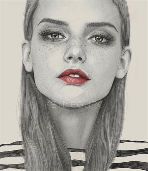 pencil sketch portrait artists photorealistic pencil portraits of by kei meguro