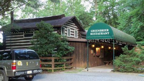 Greenbrier Cabin Gatlinburg Tn by Greenbrier Restaurant Gatlinburg Menu Prices
