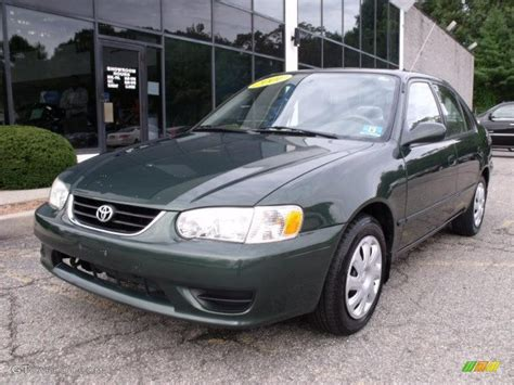 Toyota Woodland 2001 Woodland Green Pearl Toyota Corolla Le 37493238
