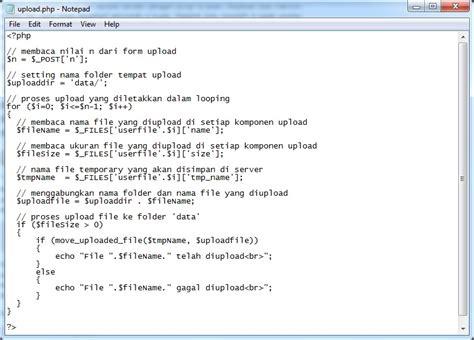 membuat upload file di php php hosting tips dan trik membuat multiple upload file