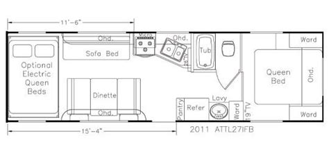 eclipse attitude toy hauler floor plans 2012 eclipse attitude 27ifbg travel trailer las vegas nv