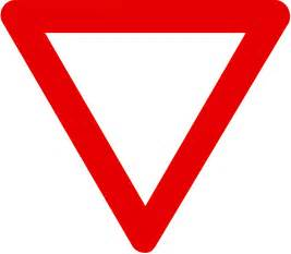 yield sign color yield sign coloring page clipart best