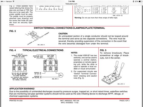 alarm flow switch wiring diagram free