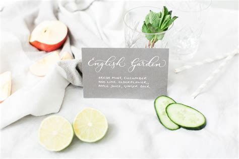 3 fabulous signature cocktail recipes for your wedding