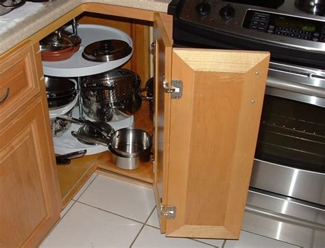blind cabinet pull out blind corner cabinet solutions diy wanderpolo decors
