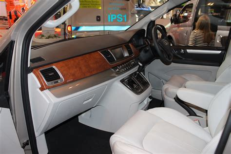 ldv  mpv interior shot   cv show  commercial vehicle dealer