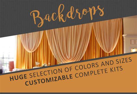 filmgard 10ft x 20ft plastic drop event decor direct buy wholesale wedding decorations