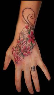 flower hand tattoo hand tattoos page 41