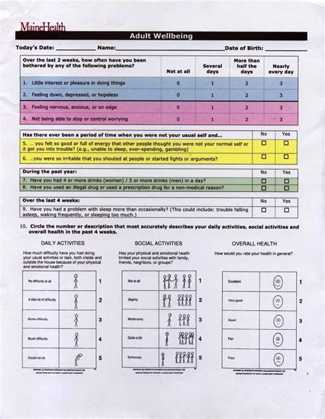pre exercise screening form template sletemplatess