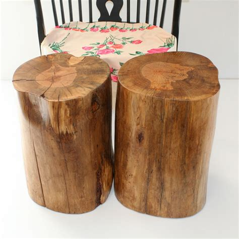 tree stump side table tree stump side table brings nature fragment into