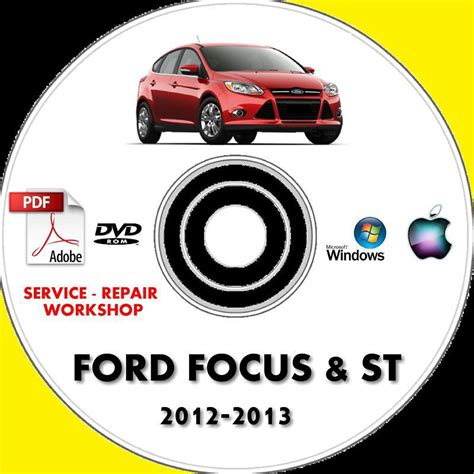 find ford focus focus st service repair workshop manual 2012 2013 my motorcycle in 02905 us