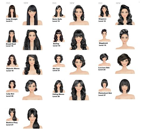 unlock covet fashion hairstyle covet fashion game hairstyle redos diamondb pinned