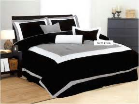 Home Design Comforter Black White And Grey Comforter Set Home Design