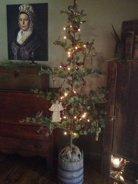 1000 ideas about primitive christmas tree on pinterest