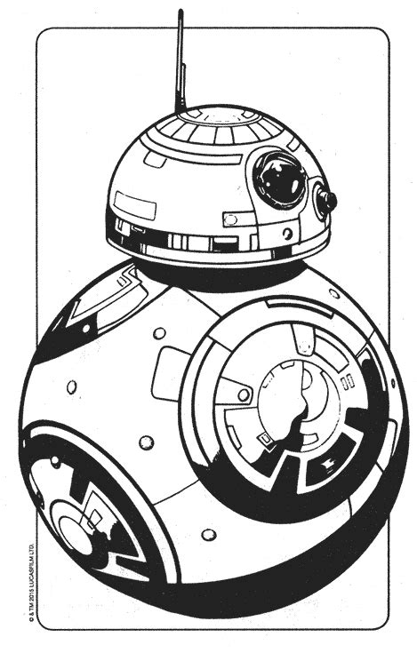 star wars droid coloring page bb8 droid coloring pages coloring pages