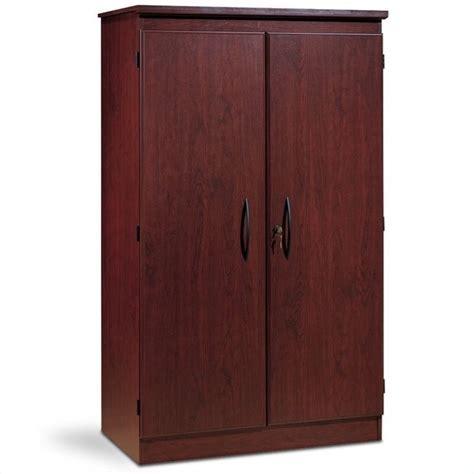 2 door storage cabinet south shore park 2 door storage cabinet in royal cherry