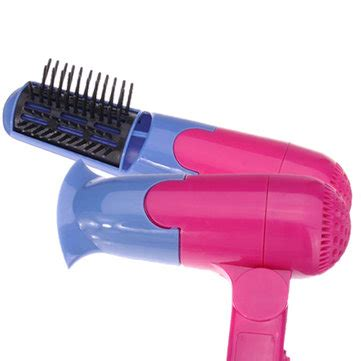 Hair Curly Comb Perawatan Rambut Curl Styler Rs 4 mini handy hair dryer comb curly hair styling tool us 6 77