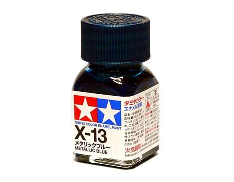 Tamiya Enamel X13 Metallic Blue tamiya model color enamel paint x 13 metallic blue net 10ml 80013 models kits rcecho