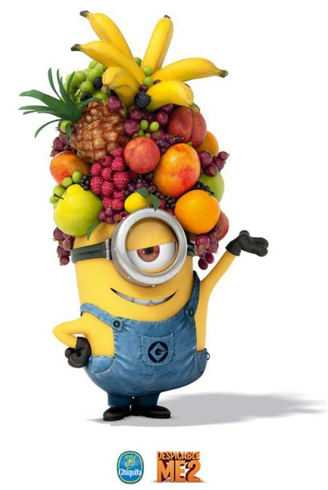 fruit hat carl with fruit hat minions hats