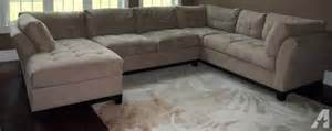 sectional sofa 3 microfiber for sale in