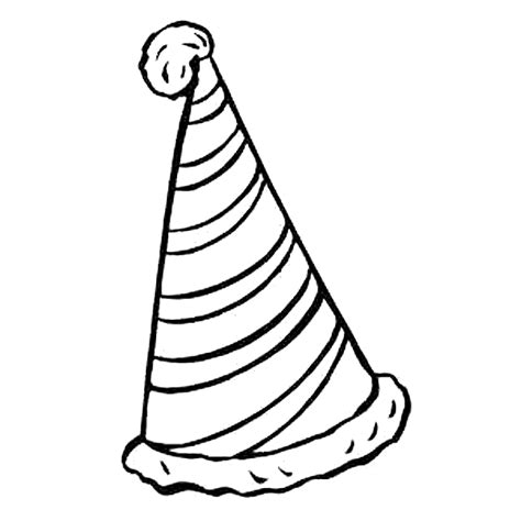 coloring page party hat birthday hat coloring page png 650 215 650 farsang